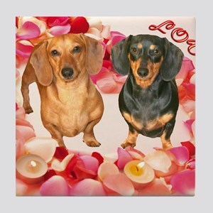 Happy Valentines Day12X16  Tile Coaster