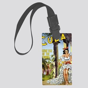travel to cuba Large Luggage Tag