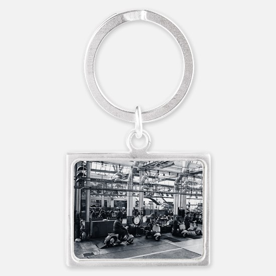Scooter_Factory Landscape Keychain