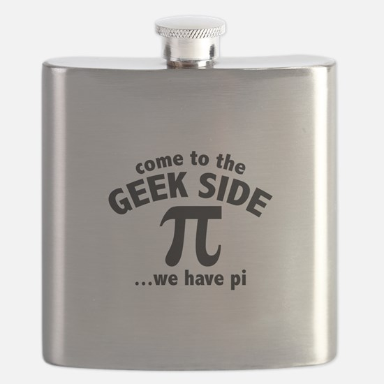 Come To The Geek Side Flask