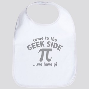 Come To The Geek Side Bib
