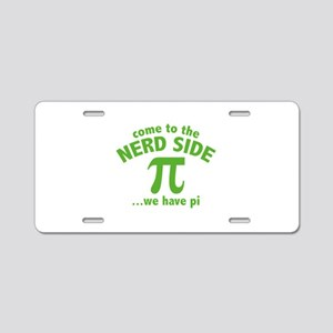 Come To The Nerd Side Aluminum License Plate