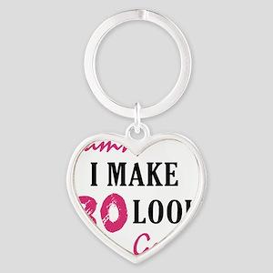 good80_light Heart Keychain