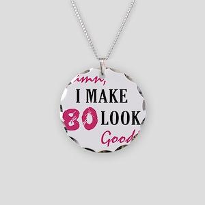 good80_light Necklace Circle Charm