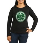 Blarney Is My Middle Name Women's Long Sleeve Dark