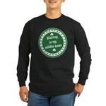 Blarney Is My Middle Name Long Sleeve Dark T-Shirt