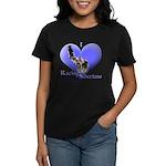 I Love Racing Siberians Women's Dark T-Shirt