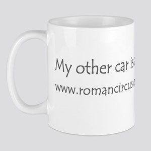 Bumper sticker large Mug