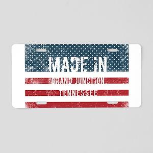 Made in Grand Junction, Ten Aluminum License Plate