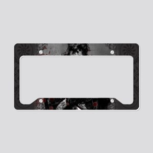Beautiful Zombie License Plate Holder
