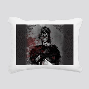 Beautiful Zombie Rectangular Canvas Pillow