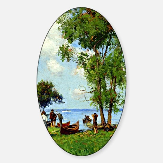 A Thousand Islands, St. Lawrence Ri Sticker (Oval)