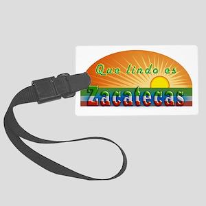 Lindo Zacatecas Large Luggage Tag