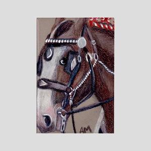 cafeshirehorse1 Rectangle Magnet