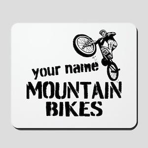 Custom Mountain Bikes Mousepad