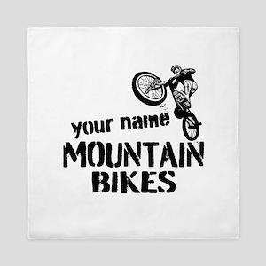 Custom Mountain Bikes Queen Duvet