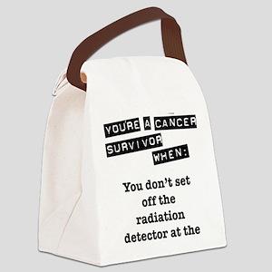 radiation Canvas Lunch Bag
