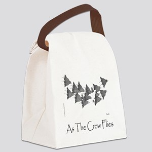 As The Crow Flies 10x10 Template Canvas Lunch Bag