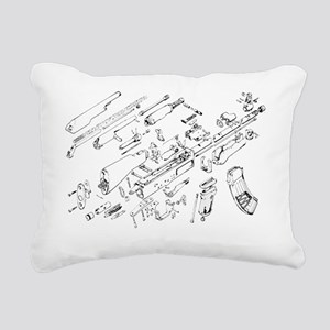 ak Rectangular Canvas Pillow