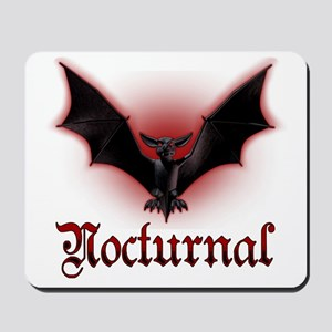 Bat_grey Mousepad