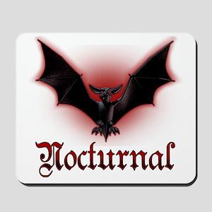Bat_grey Mousepad