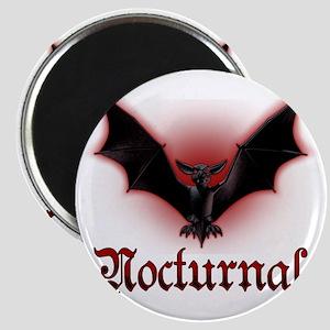 Bat_grey Magnet