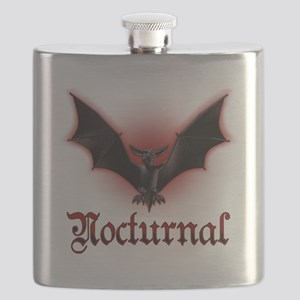Bat_grey Flask