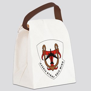 4258th Strategic Wing - 2 Canvas Lunch Bag