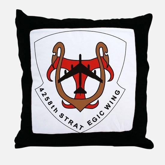 4258th Strategic Wing - 2 Throw Pillow
