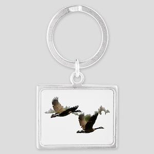 goose 1 Landscape Keychain
