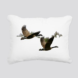 goose 1 Rectangular Canvas Pillow