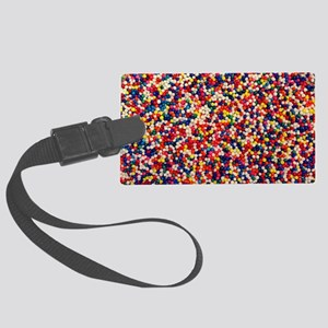 candy-sprinkles_8x12 Large Luggage Tag