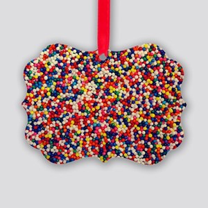 candy-sprinkles_8x12 Picture Ornament