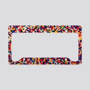 candy-sprinkles_8x12 License Plate Holder