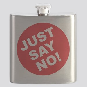 JUST SAY NO Flask