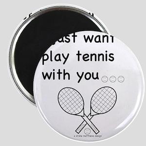 tennis_tr Magnet