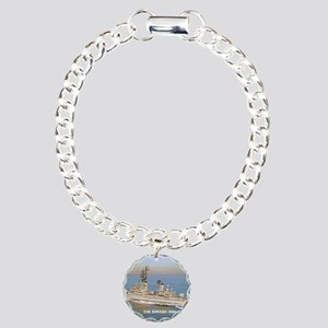 towers small poster Charm Bracelet, One Charm