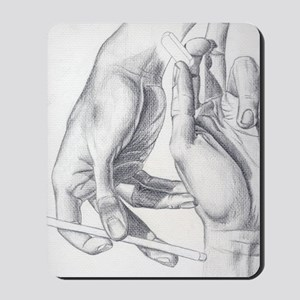 Artists Hands Mousepad