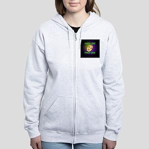 MardiPin3 Women's Zip Hoodie