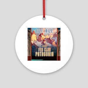 feb-club-patagonia Round Ornament