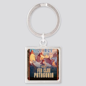 feb-club-patagonia Square Keychain