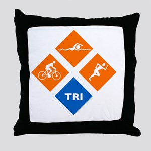 triw Throw Pillow