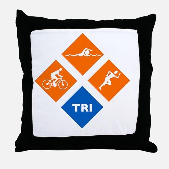 triw Throw Pillow