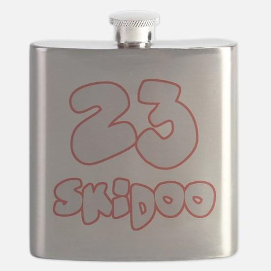 23 Skidoo Flask