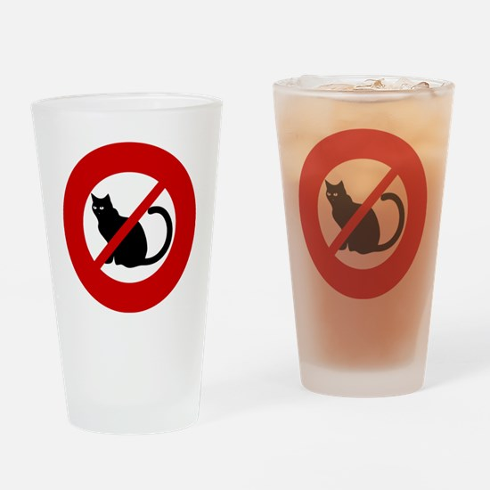 no-cats Drinking Glass