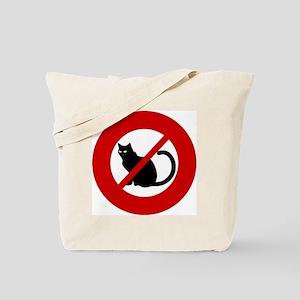 no-cats Tote Bag