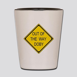 2-Out of the Way Doby Shot Glass