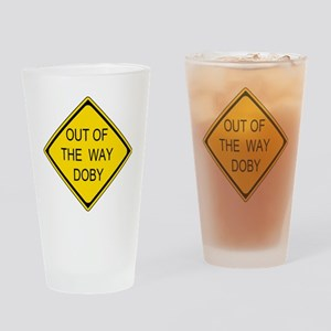 2-Out of the Way Doby Drinking Glass