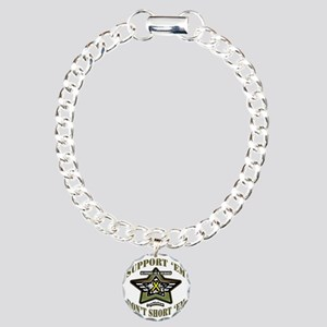 camo star poeticfreedom  Charm Bracelet, One Charm