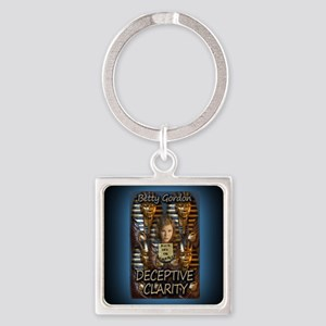 Deceptive Clarity Rect Magnet Square Keychain